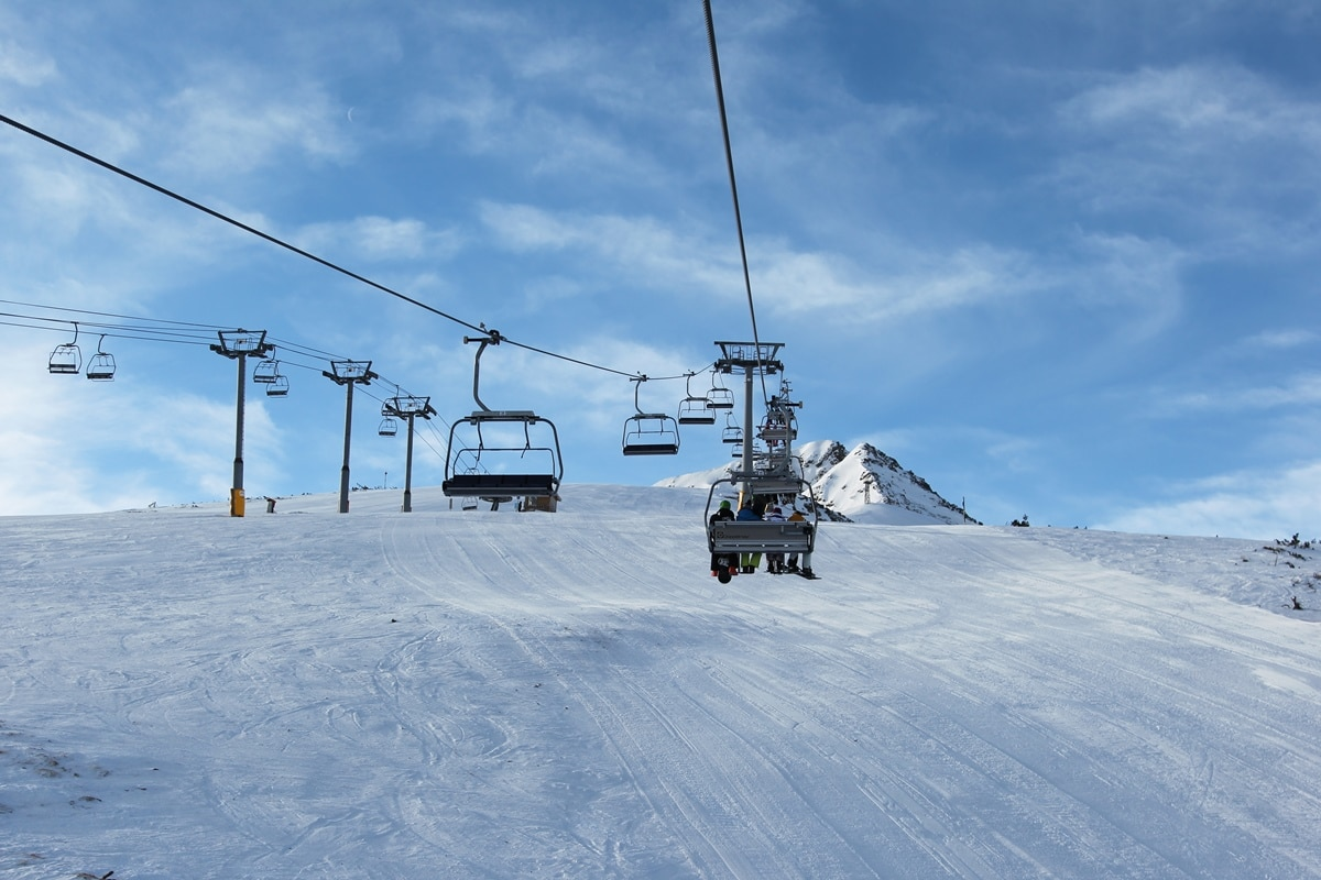 Ски център Банско - лифт