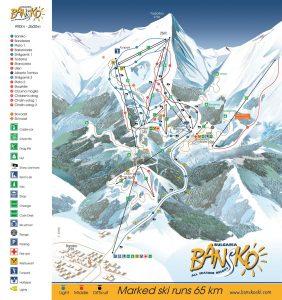bansko ski map1
