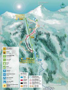 dobrinishte ski map1