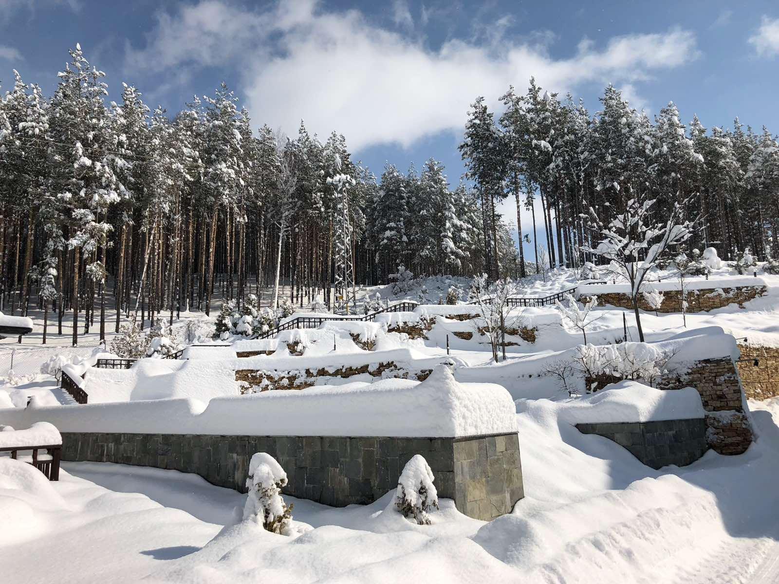 Русковец Резорт зима