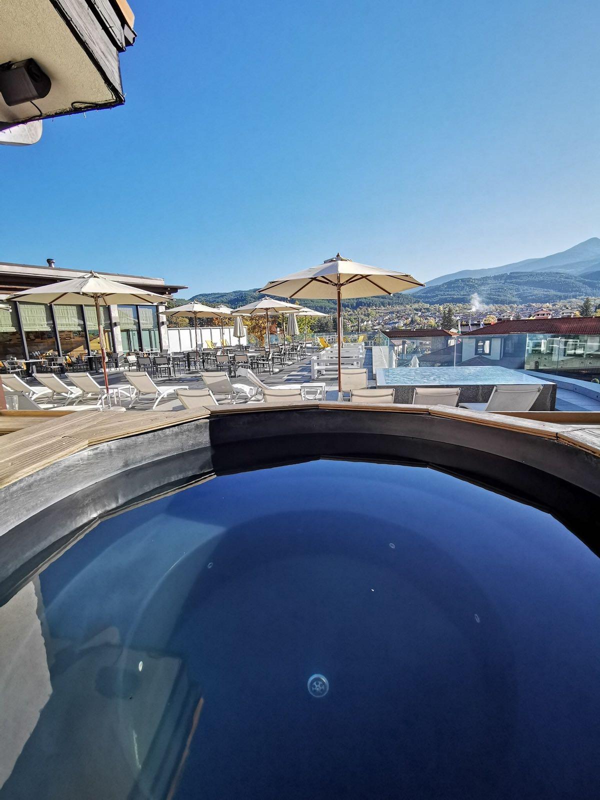 Jacuzzi Ruskovets Resort