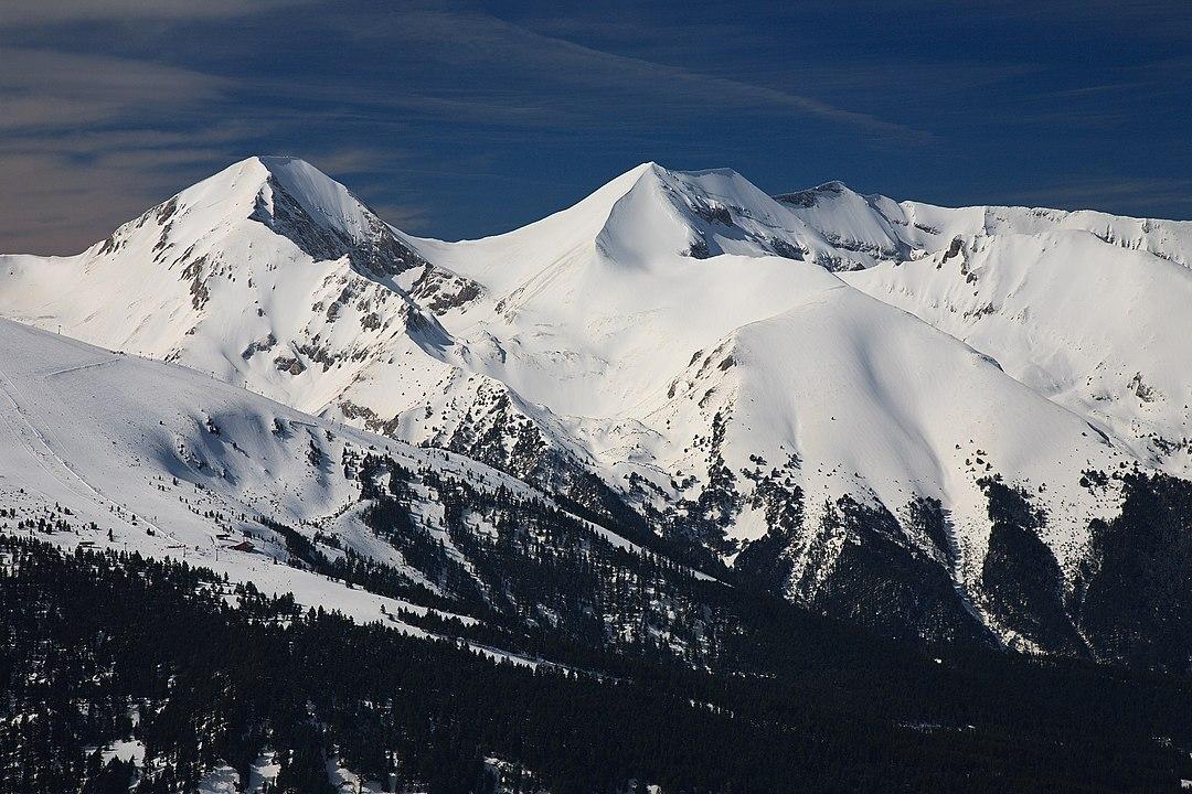 връх Вихрен - заснежен