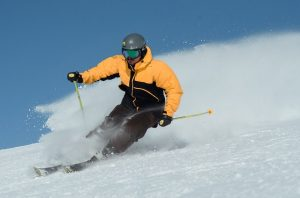 покарайте ски през зимата