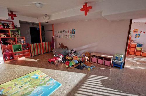 детски кът в русковец резорт