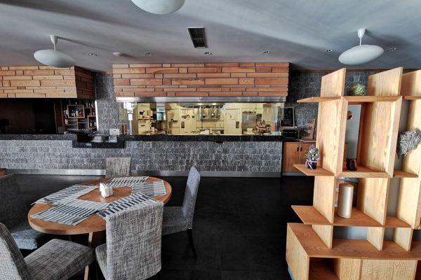 интериор в ресторант лавендер