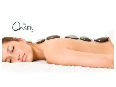 Онсен СПА масаж с вулканични камъни