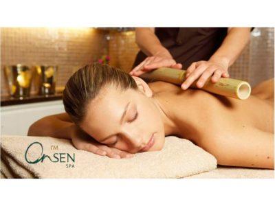 Бамбуков масаж е Онсен СПА Център Русковец Резорт